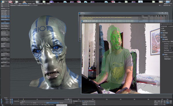 Lightwave 3d Group Presents Nevronmotion Microsoft Kinect